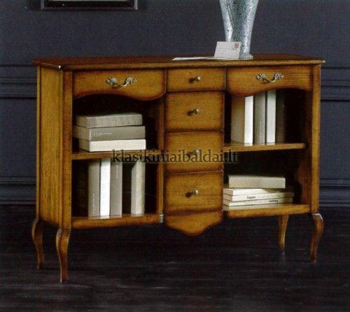 Klasikiniai baldai art 285 Knygų lentyna