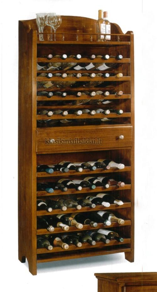Klasikiniai interjerai art 1215/A Vyno lentyna