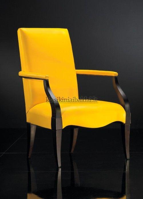 Klasikiniai svetaines baldai art 0146P Krėslas