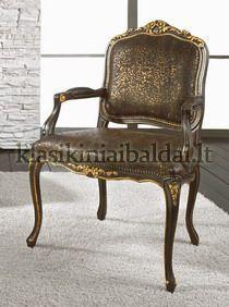 Klasikiniai svetaines baldai art 0295P Krėslas