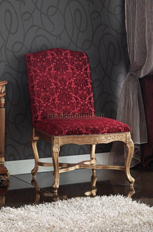 Klasikiniai svetaines baldai art 0350S Krėslas