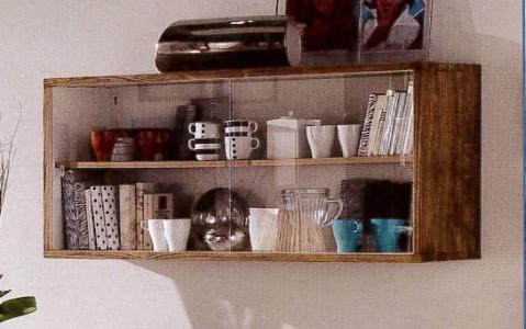 Klasikiniai svetaines baldai art 3262/A Lentyna su stiklu
