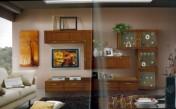 Klasikiniai svetaines baldai Sekcijos art 2040 Sekcija