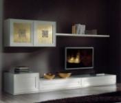 Klasikiniai svetaines baldai Sekcijos art Mimosa Sekcija