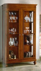 Klasikiniai svetaines baldai Vitrinos art 1511/A Vitrina