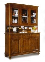 Klasikiniai svetaines baldai Vitrinos art 1855/OF Vitrina