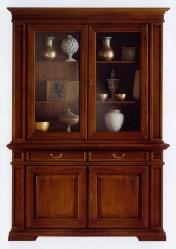 Klasikiniai svetaines baldai Vitrinos art 202/G Vitrina