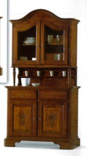 Klasikiniai svetaines baldai Vitrinos art 2140/A Vitrina