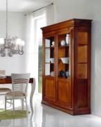 Klasikiniai svetaines baldai Vitrinos art 3075/A Vitrina