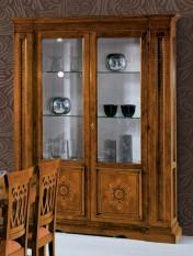 Klasikiniai svetaines baldai Vitrinos art 531VETR Vitrina