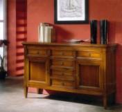 Klasikiniai svetaines baldai Vitrinos art 602 Indauja