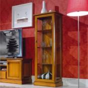 Klasikiniai svetaines baldai Vitrinos art 668/G Vitrina