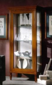 Klasikiniai svetaines baldai Vitrinos art 801 Vitrina