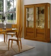 Klasikiniai svetaines baldai Vitrinos art 2009/P Vitrina
