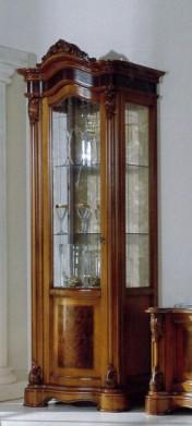 Klasikiniai svetaines baldai Vitrinos art 2320 Vitrina