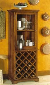 Klasikiniai svetaines baldai Vyninės art 828 Vyno spintelė