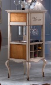 Klasikiniai svetaines baldai Vyninės art H6233 Vyninė-spintelė