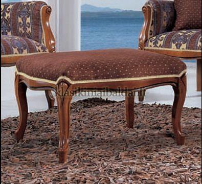 Klasikinio stiliaus baldai art 0218O Pufas