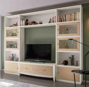 Klasikinio stiliaus baldai art 2046T Spinta/Lentyna
