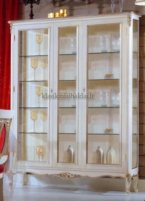 Klasikinio stiliaus baldai art 725 Vitrina