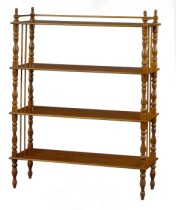 Klasikinio stiliaus baldai Furniture store art 507 Knygų lentyna