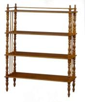 Klasikinio stiliaus baldai Knygų lentynos art 507/B Knygų lentyna