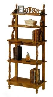 Klasikinio stiliaus baldai Knygų lentynos art 677 Knygų lentyna