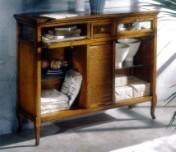 Klasikinio stiliaus baldai Knygų lentynos art 712 Knygų lentyna