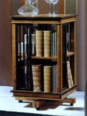 Klasikinio stiliaus baldai Knygų lentynos art D429 Knygų lentyna