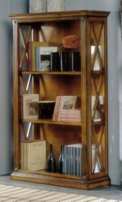 Klasikinio stiliaus baldai Knygų lentynos art H754 Knygų lentyna