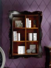 Klasikinio stiliaus baldai Knygų lentynos art H6000 Knygų lentyna