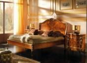 Klasikinio stiliaus baldai Lovos art 0216N Lova