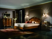 Klasikinio stiliaus baldai Lovos art 0220F Lova