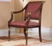 Klasikinio stiliaus baldai Sofos, foteliai art 0129A Kėdė