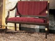 Klasikinio stiliaus baldai Sofos, foteliai art 0129D Suoliukas