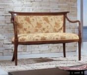 Klasikinio stiliaus baldai Sofos, foteliai art 0151D Suoliukas