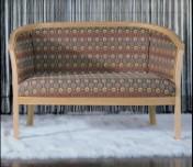 Klasikinio stiliaus baldai Sofos, foteliai art 0160D Suoliukas