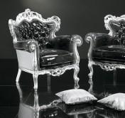 Klasikinio stiliaus baldai Sofos, foteliai art 9102P Fotelis