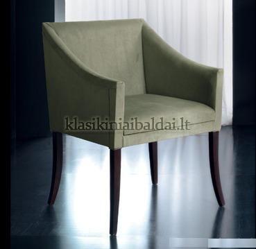 Klasikinio stiliaus interjeras art 0407P Fotelis