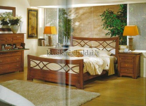 Klasikinio stiliaus interjeras art 2191/180 Lova