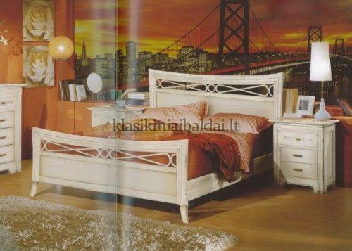 Klasikinio stiliaus interjeras art 2202/180 Lova