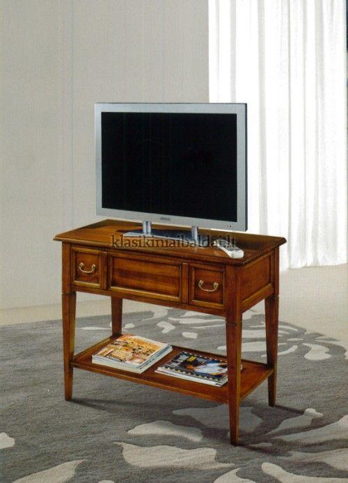 Klasikinio stiliaus interjeras art 222 TV baldas