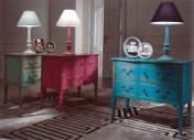 Klasikinio stiliaus interjeras Komodos art H097R Komoda