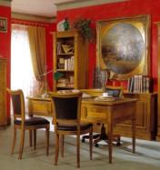 Klasikinio stiliaus interjeras Rašomieji stalai art D438 Rašomasis stalas