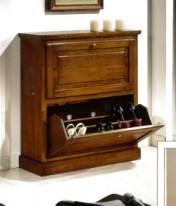 Klasikiniu baldu gamyba Batų dėžės art 1216/A Batų dėžė