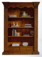Klasikiniu baldu gamyba Knygų spintos art 162/A Knygų spinta