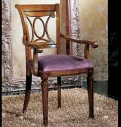 Klasikiniu baldu gamyba Roma art 0166A Kėdė