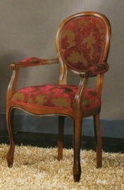 Klasikiniu baldu gamyba Roma art 0205A Kėdė