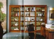 Klasikiniu baldu gamyba Roma art 2172 Knygų spinta