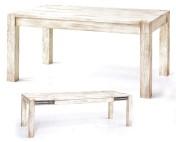 Sendinti baldai Stalai art 3260/A Stalas prasiilgina